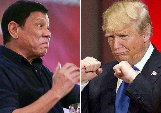 特朗普将点卯式访问菲律宾 美菲关系从蜜月走向寒冬
