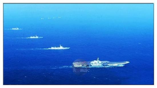 遼寧艦已經進行遠海訓練了