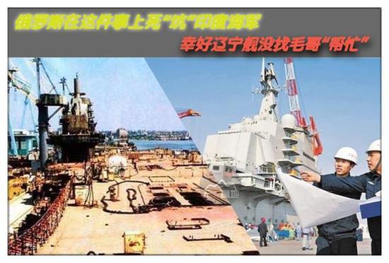 中國是靠自己的力量改造遼寧艦