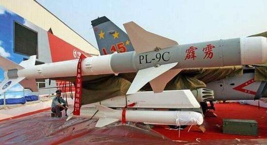 中国霹雳空空导弹