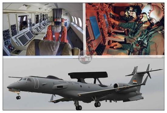 左上为希腊改进版(参考图) 右上为美军的E-2D