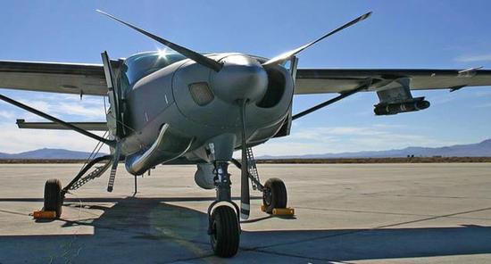图片:具有一定对地打击能力的AC-208轻型多用途飞机。