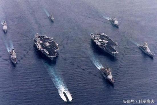 美3航母距朝鲜半岛仅400公里 若靠近中俄将是自杀