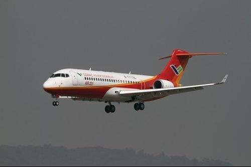 ARJ21是第一个走完全程的型号