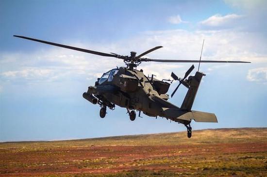 韩国阿帕奇直升机演习首次实弹射击地狱火导弹军情解码房兵2017