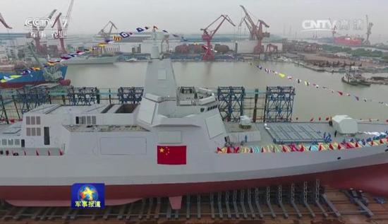 055舰的火力单元数量达到中国之最