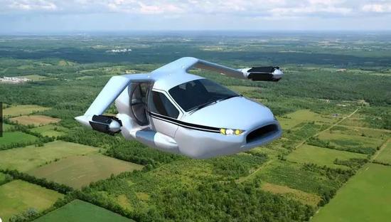 ▲Terrafugia公司TF-X概念车图片来源:Terrafugia官网