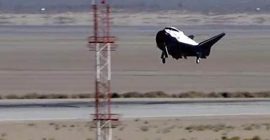美国新型航天飞机首飞失败4年后终获成功(图)中国领先的军事科技