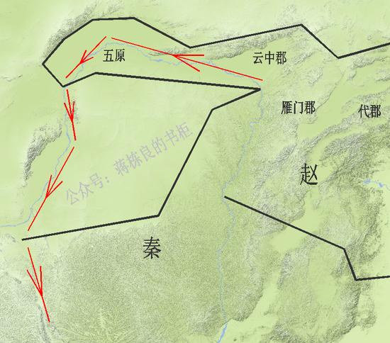 秦晋争霸晋国为何打不下秦 是因地理上占不到便宜?