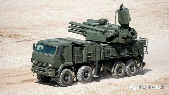 """▲""""铠甲-S1""""低空导弹"""