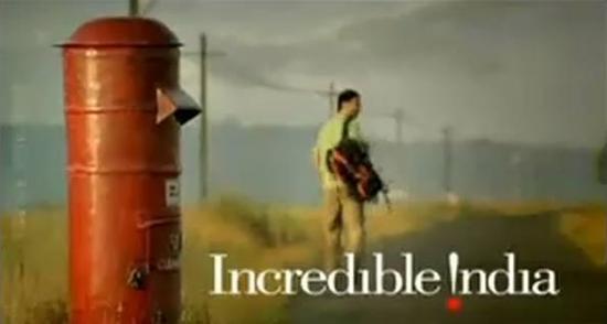 视频截图:印度旅游宣传片《Incredible India》(不可思议的印度)