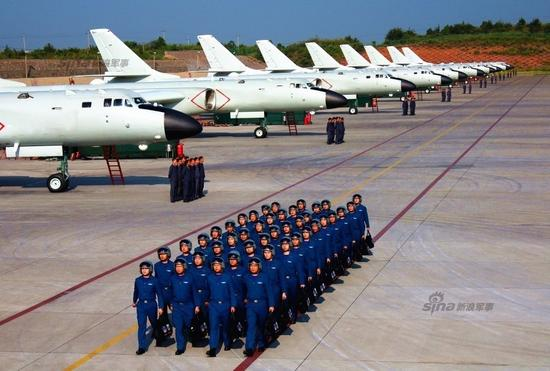 英媒:中国轰6K轰炸机已进入全天24小时警戒值班