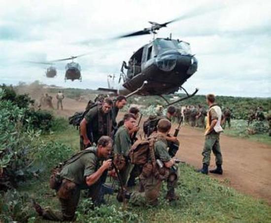 许多美军不想卷入越战泥潭