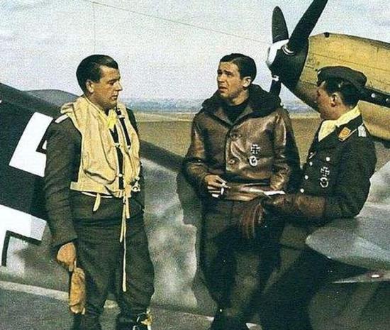 德军飞行员