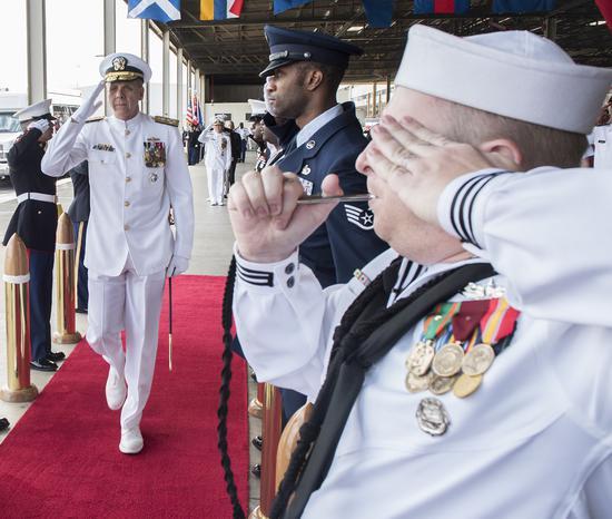 美新任印太司令就职典礼 多位美军高官发言剑指中国