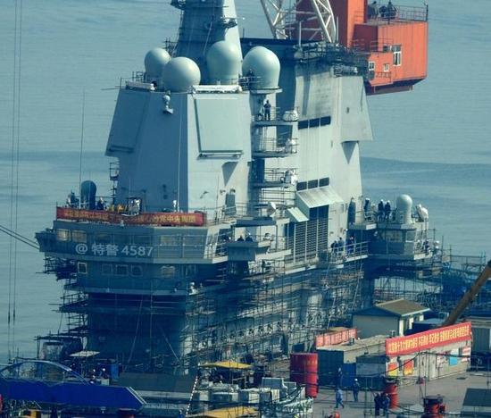 中国第三艘航母突然加速 四大核心技术已全部成熟
