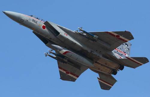 <b>日本自卫队加紧战机升级换代:启动升级98架F15J战机</b>