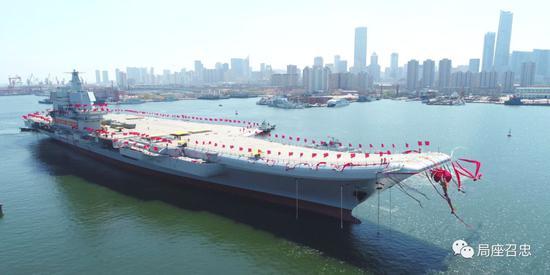 张召忠谈中国进入双航母时代:至少还要再建造四艘