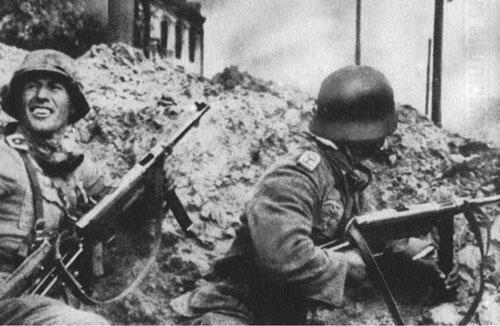 斯大林格勒战役中的德军