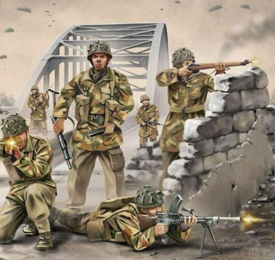 英空降一师跳进5万德军包围圈 援军延误9天致全军覆没