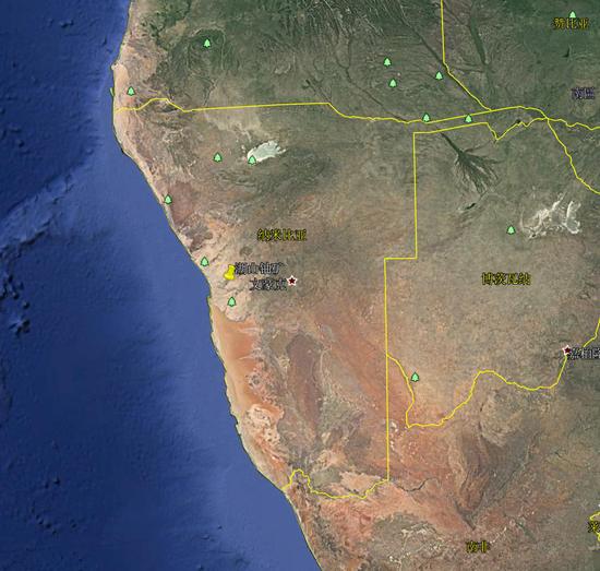 卫星记录中国在非洲最大投资项目 可年产1千吨铀(图)北京天文馆团购