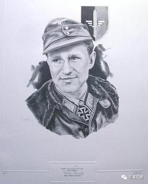 这位德空王牌曾担任哈特曼长机 希特勒亲自为其授勋