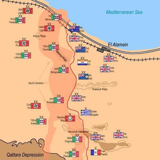 隆美尔军团险饮马苏伊士运河 却因这战役一蹶不振