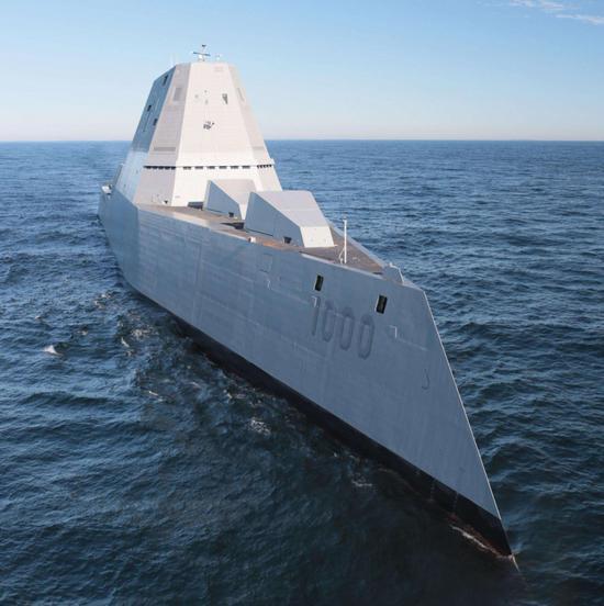 美海军加急订单造这型战舰 只因中国055成批下水