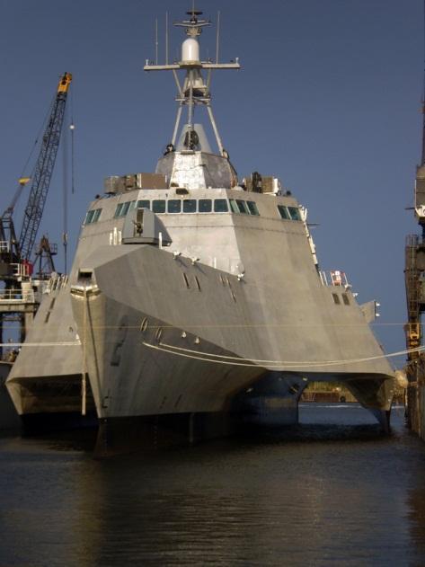 图为滨海战斗舰独立级独立舰USS Independence, LCS-2)-濒海战斗