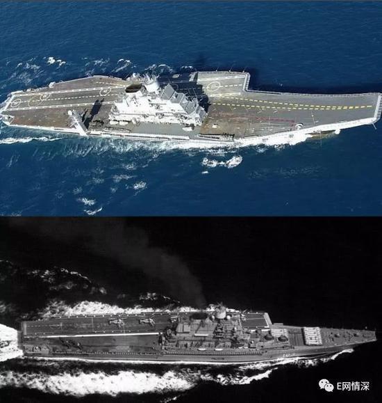 印购俄航母战力如何:首波可起飞12架战机小于辽宁舰