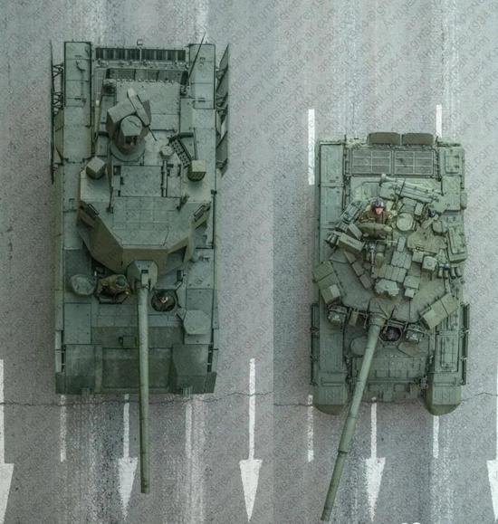 超前设计的俄军阿玛塔坦克有重大缺陷 今年很难服役