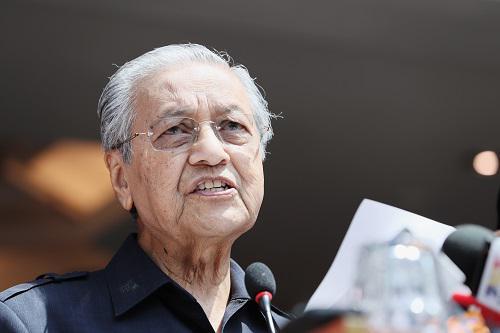 马来西亚首相重提中新