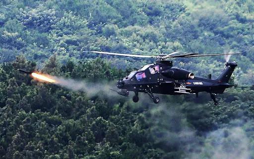 中国试射世界领先的新导弹 武直10打击范围将翻倍