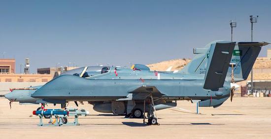 沙特彩虹4无人机被击落毫不心疼 已从中国订购300架图片