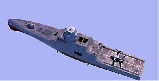 美重启25000吨巡洋舰计划 携弹量是中国055舰的两倍