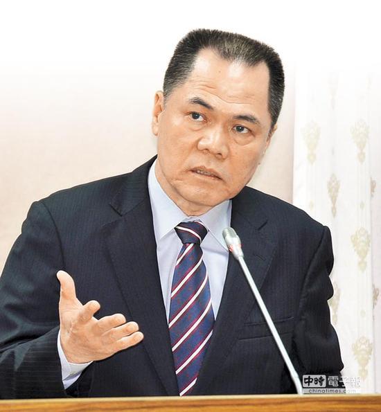 """台""""国安局""""副局长周美伍(图片来自:台媒)"""
