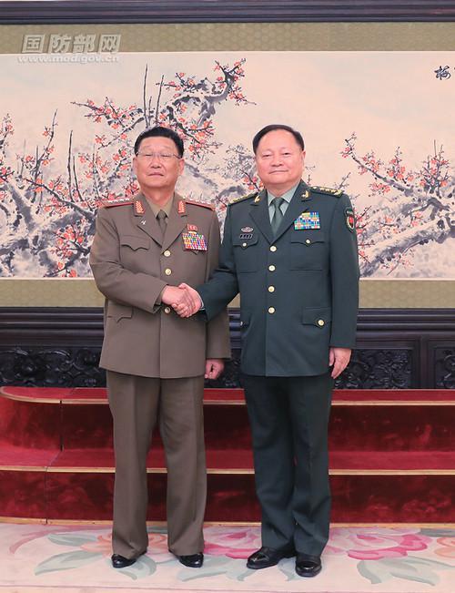 外媒:美韩联合军演之际 朝鲜派高级军事代表团访华