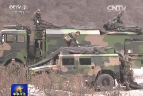 东风-31A导弹也是这样,图为其保障车辆