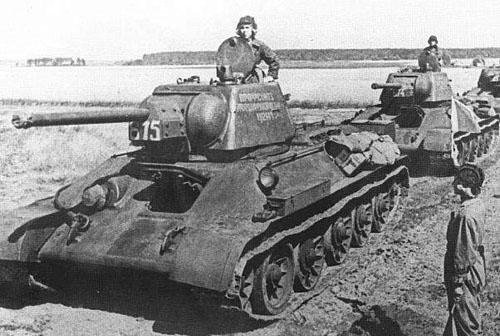 t-34中型坦克早期型号