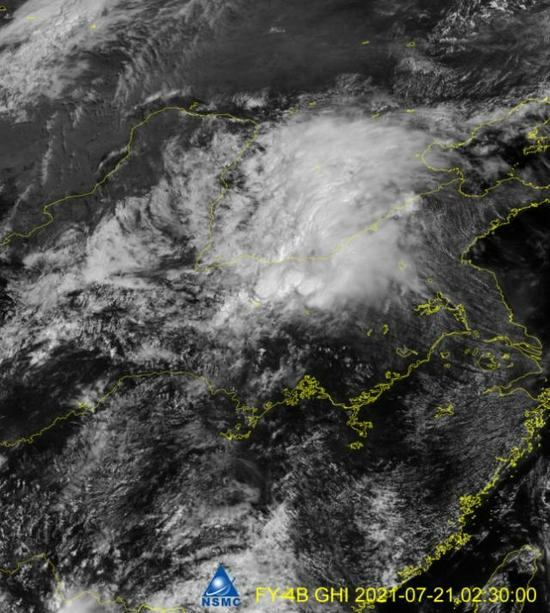 航天科技多颗卫星紧急支援河南救灾 拍下多张观测图