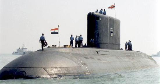"""印度海军的""""基洛""""级潜艇"""