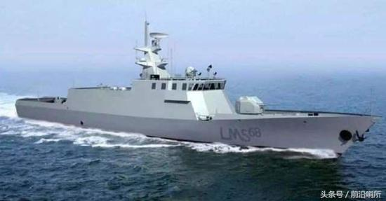 馬來西亞瀕海任務艦效果圖