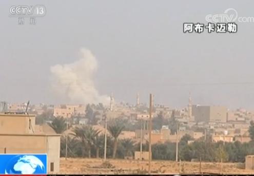 叙利亚营地遭空袭40人死亡 美军:不