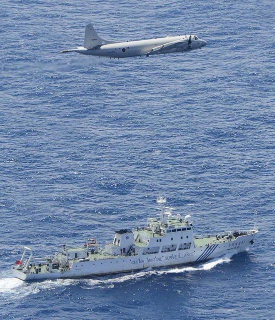日本海自P-3C反潜巡逻机被指频繁搞抵近监视、侦察。
