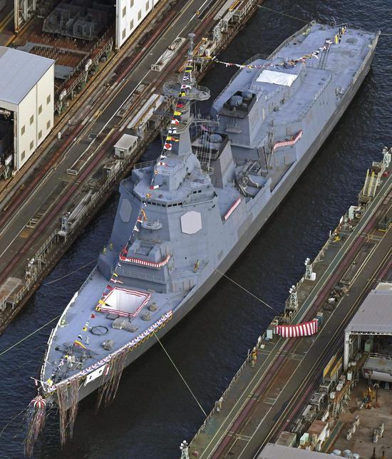 日海自新盾舰首次装备一重要系统 却落后中国十多年