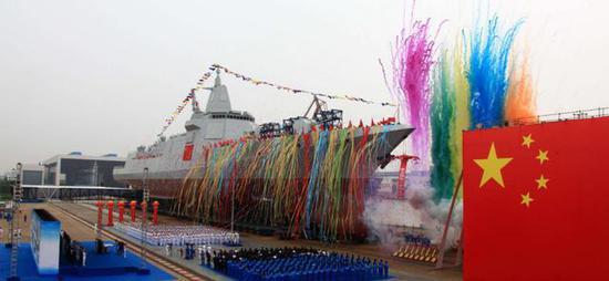 (江南造船厂是我国最著名的具有军用舰艇承建资质的造船厂)
