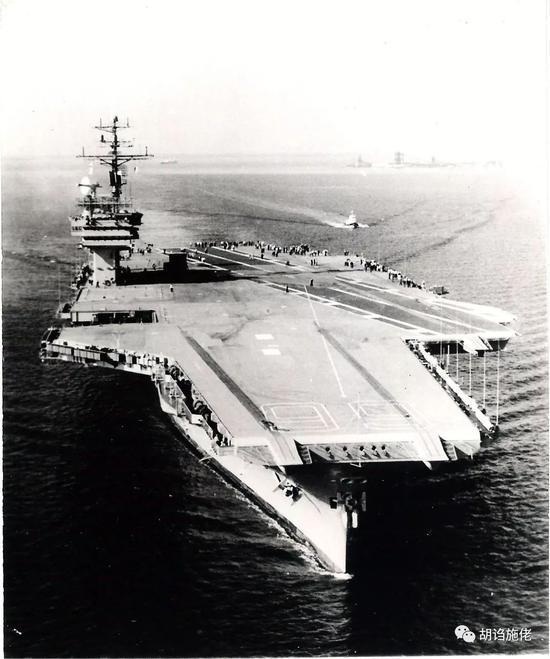 我003航母效果图曝悬念:舰岛弹射器升降机到底啥样