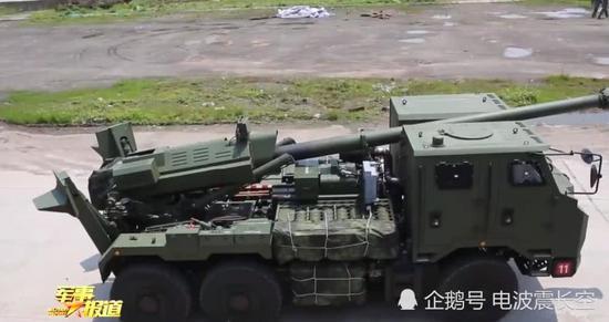 中国最新155毫米车载炮扎堆服役 操瞄实现全自动