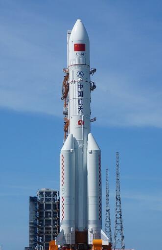 长征五号运载火箭寄托了中国的航天梦想