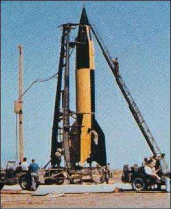美国早期导弹